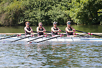 Race: 10  Event: Aspirational 4x<br /> Crew: 205  Club: Mortlake A & A<br /> <br /> Henley Women's Regatta 2018<br /> Friday<br /> <br /> To purchase this photo, or to see pricing information for Prints and Downloads, click the blue 'Add to Cart' button at the top-right of the page.