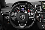 Car pictures of steering wheel view of a 2016 Mercedes Benz GLE-Class 5 Door SUV Steering Wheel