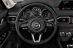 Car pictures of steering wheel view of a 2018 Mazda CX-5 Sport 5 Door SUV