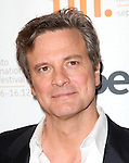 Colin Firth attending the The 2012 Toronto International Film Festival.Red Carpet Arrivals for 'Arthur Newman' at the Elgin Theatre in Toronto on 9/10/2012