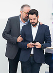 Juan Carlos Girauta and Fernando de Paramo (r) after Ciudadanos General Council. September 30, 2019. (ALTERPHOTOS/Francis Gonzalez)