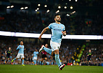 Sergio Aguero of Manchester City during the Premier League match at the Eithad Stadium, Manchester. Picture date 21st August 2017. Picture credit should read: Simon Bellis/Sportimage