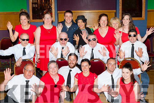 The Castleisland Strictly dancers at their final dress rehearsal in the River Island hotel front row l-r: Paddy White, Nora Fealey, Padraig Murphy, Maria Moriarty, Pa White, Elaine Doody. Middle row: Peter Browne, Dan Lyons, Bobby O'Connell, Tom McGoldrick. Back row: Norielle O'Leary, Catriona O'Connor, Andrew Morrissey, Linda Flanagan, Sheila Kerley, Ellen Lynch and Elaine Guiney