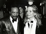 Peggy Lipton and Quincy Jones attending a performance of 'Dreamgirls' at the Imperial Theatre on December 1, 1981 in New York City.