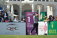 Jake McLeod (AUS) in action during the final round of the Commercial Bank Qatar Masters, Doha Golf Club, Doha, Qatar. 10/03/2019<br /> Picture: Golffile | Phil Inglis<br /> <br /> <br /> All photo usage must carry mandatory copyright credit (&copy; Golffile | Phil Inglis)