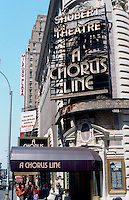 A Chorus Line Broadway Marquee Sign By <br /> Jonathan Green