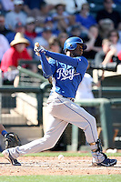 Irving Falu, Kansas City Royals 2010 minor league spring training..Photo by:  Bill Mitchell/Four Seam Images.