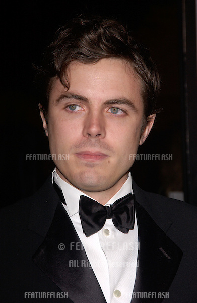 Dec 8, 2004; Los Angeles, CA: Actor CASEY AFFLECK at the Hollywood premiere of his new movie Ocean's Twelve..