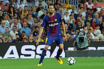 League Santander 2017/2018. Game: 01.<br /> FC Barcelona vs Real Betis: 2-0.<br /> Sergio Busquets.