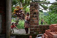 """Reyna López Denis, a local resident in Villa Tunari, explains the reasons she expresses sympathy toward the ousted Bolivian president Evo Morales. """"I've seen Evo rising in popularity from the very beginning, when he was a coca grower"""" she said, """"We have woken up. We must bury once and for all, the right wing faction of the country. We will fight with the hard vote"""", she added. Villa Tunari, Chapare region, Bolivia. November 30, 2019.<br /> Reyna López Denis, résidente de Villa Tunari, explique les raisons pour lesquelles elle exprime sa sympathie envers le président bolivien évincé, Evo Morales. """"J'ai vu Evo gagner en popularité depuis le tout début, quand il était cultivateur de coca"""", dit-elle, """"Nous nous sommes réveillés. Nous devons enterrer une fois pour toutes la faction de droite du pays. Nous nous battrons avec le vote difficile"""", a-t-elle ajouté. Villa Tunari, région du Chapare, Bolivie. 30 novembre 2019.<br /> <br /> Traduit avec www.DeepL.com/Translator (version gratuite)"""