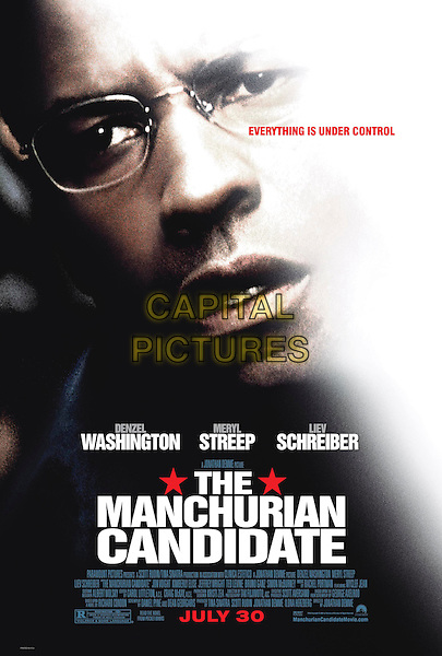 KEY ART.in The Manchurian Candidate.Filmstill - Editorial Use Only.CAP/AWFF.supplied by Capital Pictures.