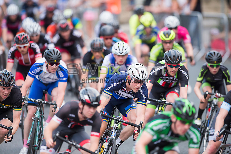 Picture by Allan McKenzie/SWpix.com - 01/07/2015 - Cycling - British Cycling Men's Road Series- Otley Grand Prix - Otley, England - The Chevin Cycles Classic passes through Otley.