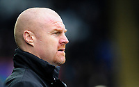 Burnley manager Sean Dyche <br /> <br /> Photographer Ashley Crowden/CameraSport<br /> <br /> The Premier League - Swansea City v Burnley - Saturday 10th February 2018 - Liberty Stadium - Swansea<br /> <br /> World Copyright &copy; 2018 CameraSport. All rights reserved. 43 Linden Ave. Countesthorpe. Leicester. England. LE8 5PG - Tel: +44 (0) 116 277 4147 - admin@camerasport.com - www.camerasport.com
