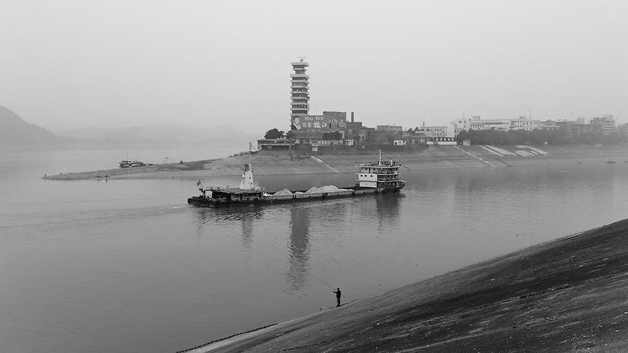 Island Opposite The West End Of The Yichang (Ichang) Bund.