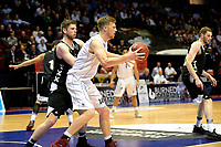 GRONINGEN - Basketbal, Donar - Apollo Amsterdam, Martiniplaza,  Dutch Basketball League, seizoen 2017-2018, 12-10-2017,  Donar speler Thomas Koenes