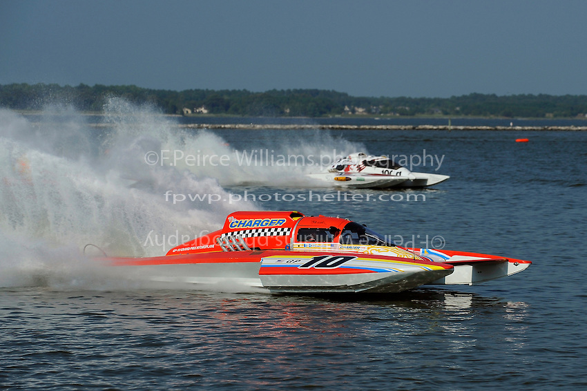 "Mike Weber, GP-10 ""The Charger"" and Pierre Mahaeu, GP-46 ""adf diesel""  (Grand Prix Hydroplane(s)"