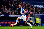 Edinaldo Gomes Pereira, Naldo, of RCD Espanyol in action during the La Liga 2018-19 match between Atletico de Madrid and RCD Espanyol at Wanda Metropolitano on December 22 2018 in Madrid, Spain. Photo by Diego Souto / Power Sport Images