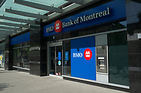 Toronto,  CANADA - File Photo - Downtown Toronto - Bank of Montreal<br /> <br /> Photo :  Agence Quebec Presse - Pierre Roussel