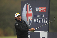 Gavin Green (MAS) on the 3rd tee during Round 4 of the Sky Sports British Masters at Walton Heath Golf Club in Tadworth, Surrey, England on Sunday 14th Oct 2018.<br /> Picture:  Thos Caffrey | Golffile<br /> <br /> All photo usage must carry mandatory copyright credit (&copy; Golffile | Thos Caffrey)