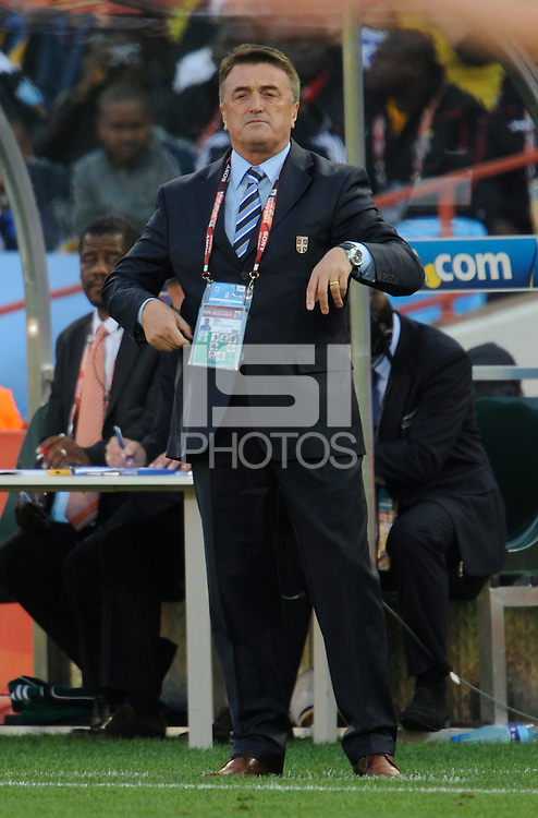 Serbia manager Radomir Antic
