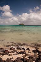 Paddy's Island from Devil's Beach, Turtle Island, Yasawa Islands, Fiji