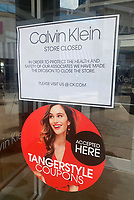 FORT WASHINGTON, MD - MARCH 17: View of Tanger Outlets National Harbor Stores which are closing as a preventative measure against the spread of the coronavirus on March 17, 2020 in Fort Washington, Maryland. <br /> CAP/MPI/MPI34<br /> ©MPI34/MPI/Capital Pictures