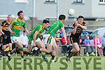 In Action Stacks David Mannix at the Garvey's Supervalu Senior County Football Championship Round 2A at Connolly Park on Saturday Austin Stacks V South Kerry
