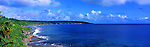 Niue Island Panorama - Panorama of the coast of Niue Island <br /> <br /> Image taken on large format panoramic 6cm x 17cm transparency. Available for licencing and printing. email us at contact@widescenes.com for pricing.