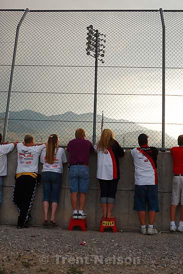 fans. Rocky Mountain Raceway.; 7.29.2006<br />