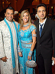 From left: Dr. Devinder Bhatia and his wife Gina with Muhammad Iqbal Khan at the Indian Film Festival Celebrity Gala at the InterContinental Hotel Saturday evening Sept. 26,2009. (Dave Rossman/For the Chronicle)
