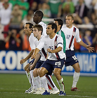 USA wall prepares for a ball. USA 2, Mexico 0, at the University of Phoenix Stadium in Glendale, AZ on February 7, 2007.