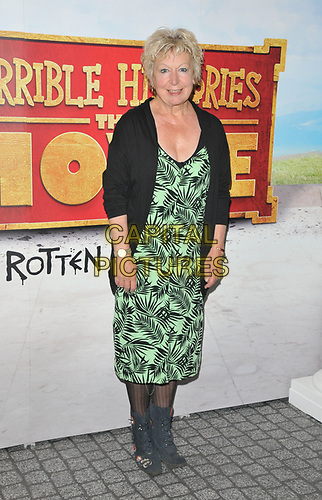 """Joanna Bacon at the """"Horrible Histories: The Movie - Rotten Romans"""" world film premiere, Odeon Luxe Leicester Square, Leicester Square, London, England, UK, on Sunday 07th July 2019.<br /> CAP/CAN<br /> ©CAN/Capital Pictures"""