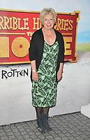 "Joanna Bacon at the ""Horrible Histories: The Movie - Rotten Romans"" world film premiere, Odeon Luxe Leicester Square, Leicester Square, London, England, UK, on Sunday 07th July 2019.<br /> CAP/CAN<br /> ©CAN/Capital Pictures"