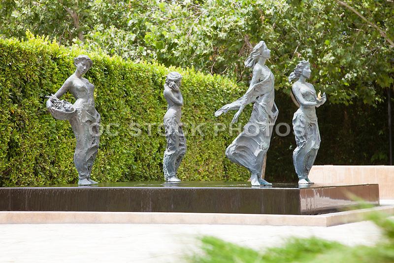 The Elements at Cerritos Sculpture Gardens