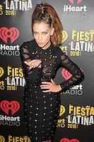 MIAMI, FL - NOVEMBER 5: Carolina Miranda at iHeartRadio Fiesta Latina 2016 at The American Airlines Arena on November 5, 2016. Credit: mpi04/MediaPunch