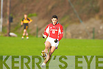 Rathmore's Aidan O'Mahony  during their division 1 County league game in Lewis Road on Sunday   Copyright Kerry's Eye 2008