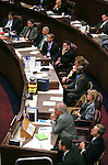 Nevada listen as Rep. Joe Heck speaks to a joint session of the Legislature at the Legislative Building in Carson City, Nev., on Wednesday, April 3, 2013..Photo by Cathleen Allison