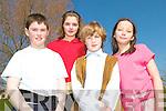 Fionnan O'Cearbhaill, Chantelle Ni Mhurchu, Seamus O'Luanaigh and Caitlin Ni She.