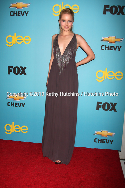 Dianna Agron.arrives at the GLEE Spring Premiere Party 2010.Chateau Marmont.Los Angeles, CA.April 12, 2010.©2010 Kathy Hutchins / Hutchins Photo...