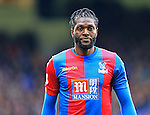 Crystal Palace's Emmanuel Adebayor in action<br /> <br /> - English Premier League - Crystal Palace vs Liverpool  - Selhurst Park - London - England - 6th March 2016 - Pic David Klein/Sportimage