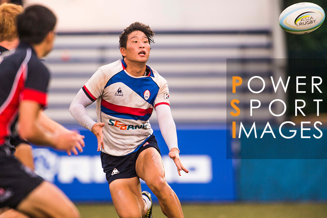 The match between South Korea and Hong Kong of the Asia Rugby U20 Sevens Series 2016 on 12 August 2016 at the King's Park, in Hong Kong, China. Photo by Marcio Machado / Power Sport Images