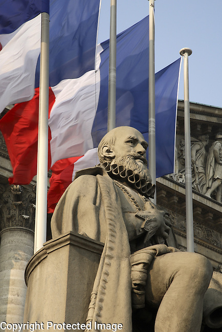 Monument to Sully, National Assembly, Paris, France