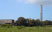 Roma, Termovalorizzatore rifiuti ospedalieri di Ponte Malmone.Rome, hospital waste incinerator in Ponte Malmone
