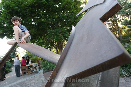 "Trent Nelson  |  The Salt Lake Tribune..This story will document the first Salt Lake City meeting between the direct descendant of a Portuguese nobleman who helped save the lives of thousands of Jews escaping Nazi occupation, and the member of a Jewish family saved by the actions of that nobleman. Ari Mendes, grandchild of Aristide de Sousa-Mendes, will meet Univeristy of Utah physics professor Dany Mattis. The meeting was arranged almost entirely due to chance, through the social networking site Facebook, by Mattis' daughter Olivia. Although not officially allied with Nazi Germany and the Axis Powers, Portugal at the time was ruled by a President Salazar who was privately sympathetic to Hitler. Acting in defiance of Salzar's orders, Aristide de Sousa-Mendes issued in 1940 some 38,000 visas to Jewish families and other ""undesirables"" escaping Nazi occupation in Belgium, France and the Netherlands. Sousa-Mendes was shunned for life as a result of his actions, with his family plunged into poverty and obscurity even after WWII's end. Mattis' family traveled across southern France (then unoccupied) into Spain and finally Lisbon, before again departing for Brazil. Dany and his family took a boat to New York City two years later. Olivia first met Ari on a Facebook page this spring, then decided to arrange the meeting between Ari and her father as a belated Father's Day gift. Her father has long sought a descendent of Aristide de Sousa-Mendes as a way to pay homage to the man who saved his family's life. He will now be able to express that thanks through this meeting with Aris Mendes, grandson of the man who helped save Mattis' family from the Holocaustin Salt Lake City, Saturday, July 3, 2010."