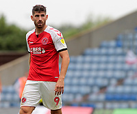 Fleetwood Town's Ched Evans in action<br /> <br /> Photographer David Shipman/CameraSport<br /> <br /> The EFL Sky Bet League One - Oxford United v Fleetwood Town - Saturday August 11th 2018 - Kassam Stadium - Oxford<br /> <br /> World Copyright &copy; 2018 CameraSport. All rights reserved. 43 Linden Ave. Countesthorpe. Leicester. England. LE8 5PG - Tel: +44 (0) 116 277 4147 - admin@camerasport.com - www.camerasport.com