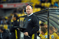 Hurricanes manager Tony Ward during the Super Rugby match between the Hurricanes and Crusaders at Westpac Stadium in Wellington, New Zealand on Saturday, 10 March 2018. Photo: Dave Lintott / lintottphoto.co.nz