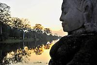Bayon Gate, SIEM REAP, Cambodia
