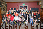HAPPY 40TH:Anne O'Sullivan,Ballyduff, who got a land as she arrived at Lowes Bar & Restaurant, Ballyduff on Saturday night as her family and fried put on a 40th birthday party for her (Anne is seated 5th from right).