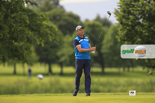 Timothy Maxwell (Knutsford GC) on the 8th tee during Round 2 of the Titleist &amp; Footjoy PGA Professional Championship at Luttrellstown Castle Golf &amp; Country Club on Wednesday 14th June 2017.<br /> Photo: Golffile / Thos Caffrey.<br /> <br /> All photo usage must carry mandatory copyright credit     (&copy; Golffile | Thos Caffrey)