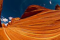 The Wave II, Coyote Buttes North, Paria Canyon-Vermillion Cliffs Wilderness Area, Utah-Arizona border, USA